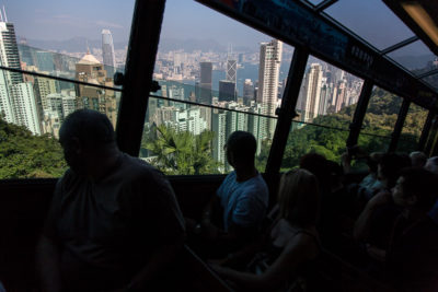 Bergbana, Victoria Peak, Hongkong