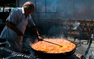 Paella, Nerja, Burriana