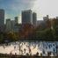 Skridskor i Central Park