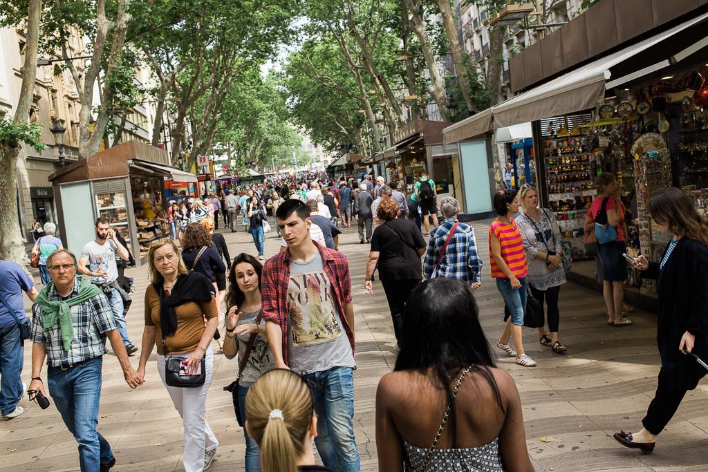 Barcelonas paradgata La Rambla