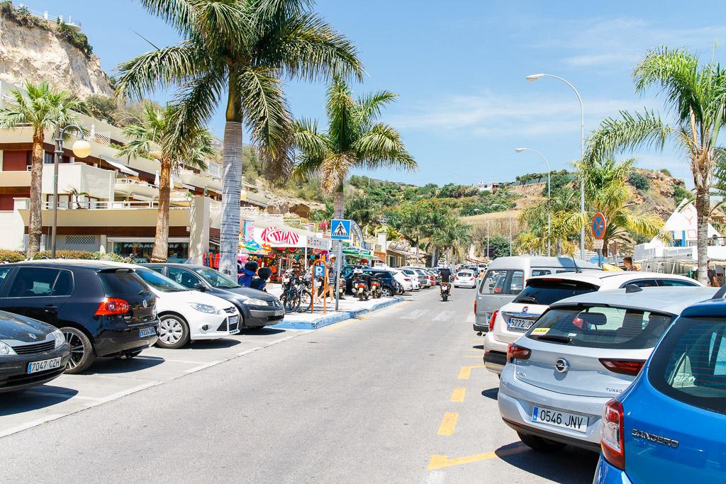 Strandgatan i Burriana