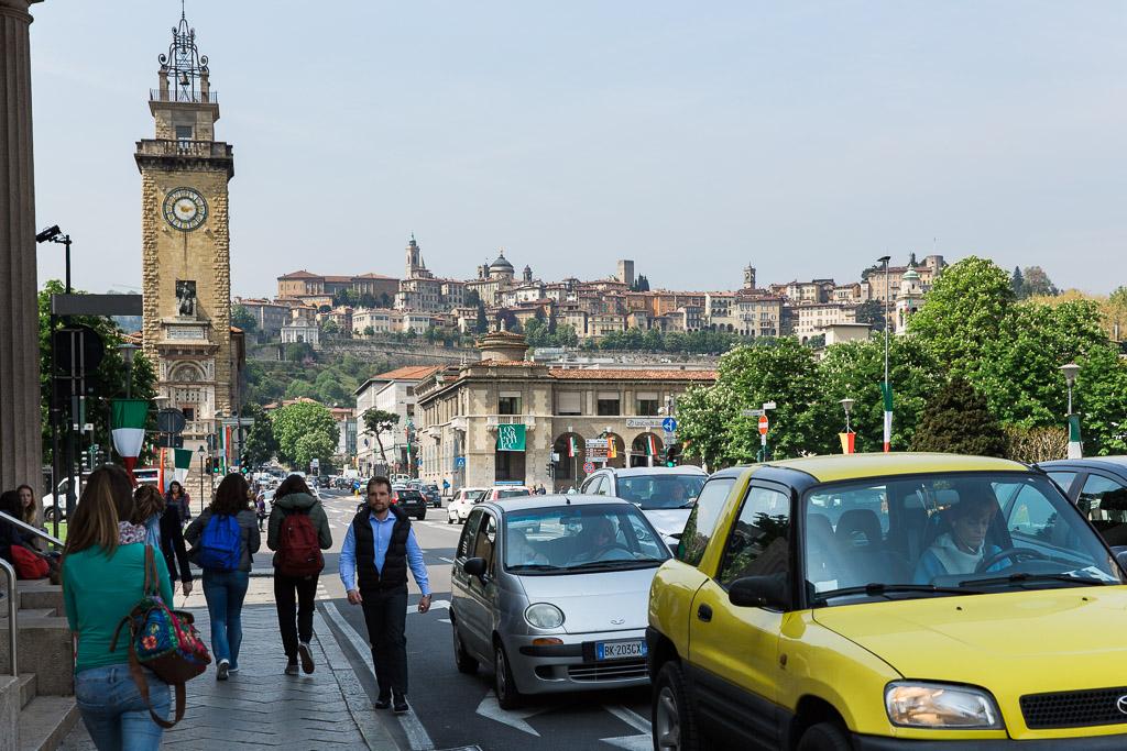 Citta Bassa och Citta Alta, Bergamo