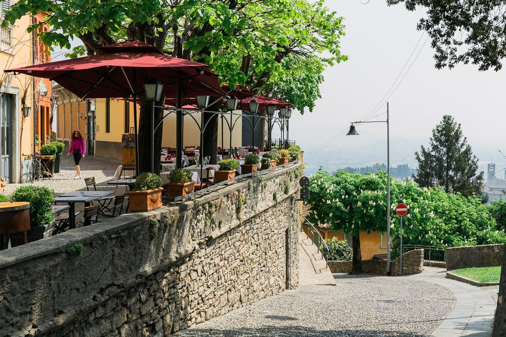 Promenad San Vigilio, Bergamo