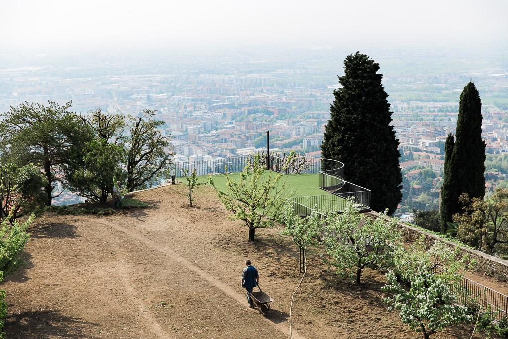 Trädgård, Bergamo