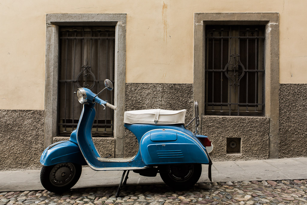 Vespa, Bergamo
