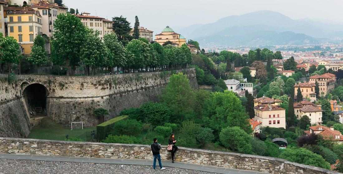 Weekend i Bergamo, Italien