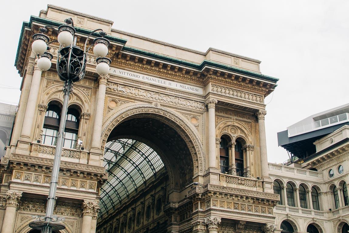 Galleria Vittorio Emanuele II i Milano