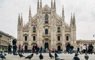 Katedralen Duomo i Milano