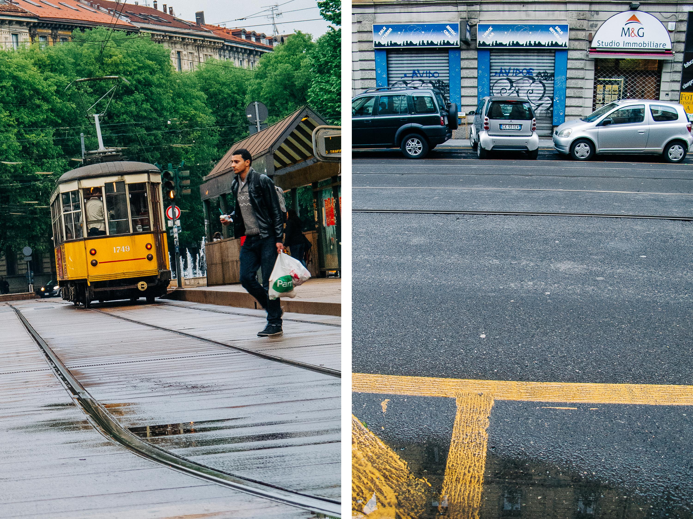 Trafik och kommunikationer i Milano