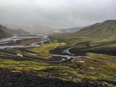 Roadtrip i Landmannalaugar, Island
