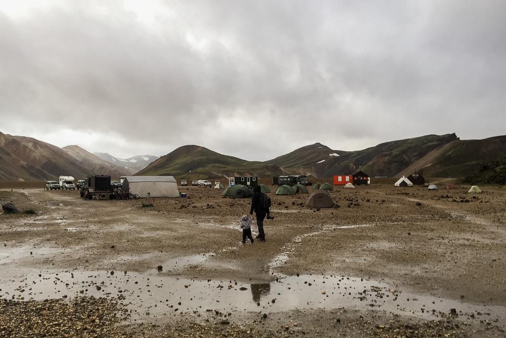 Camping, Landmannalaugar