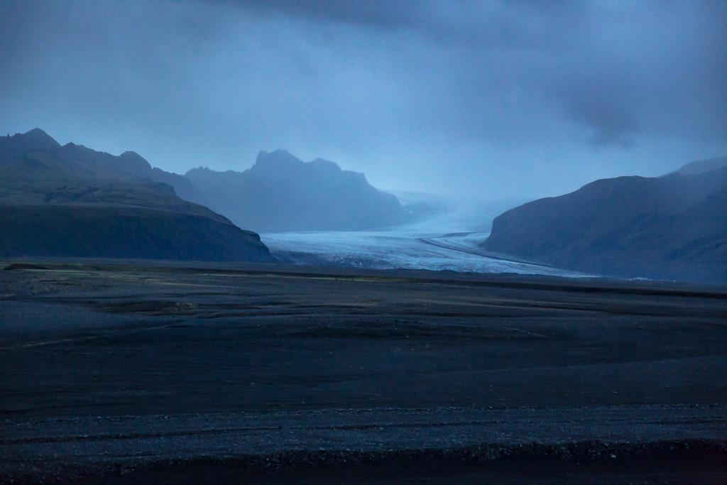 Glaciär, Island