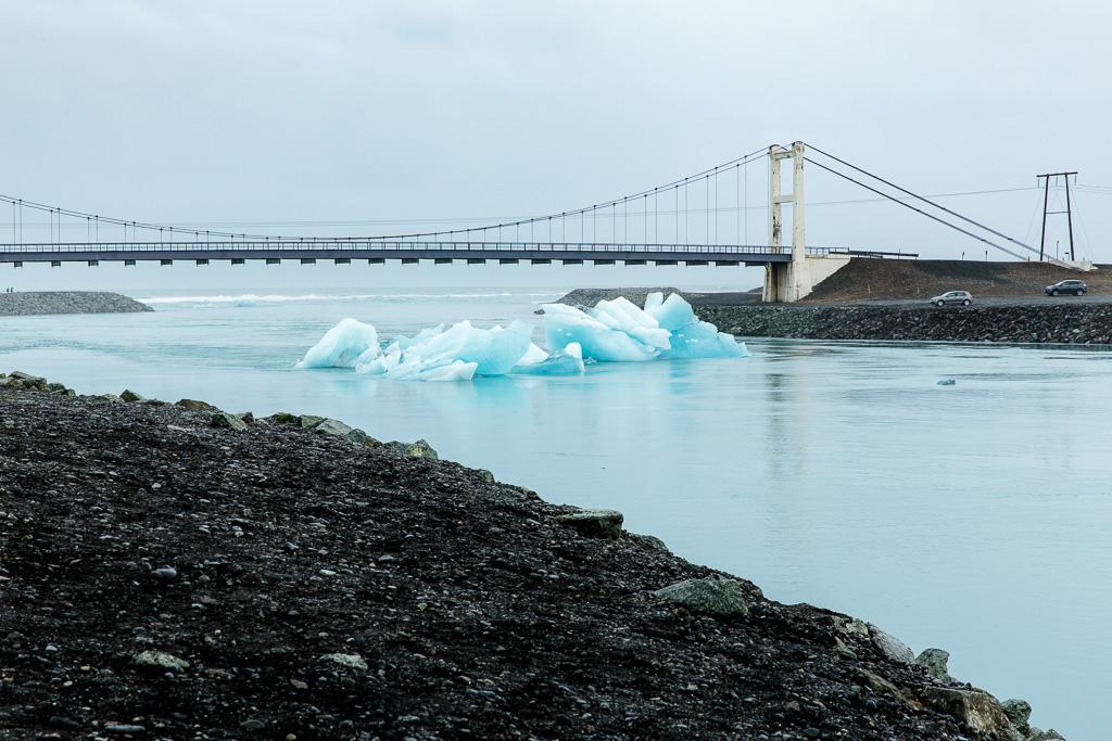 Glaciärsjön Jökulsarlon
