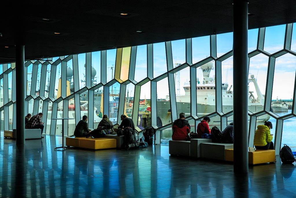 Harpa, konserthus, operahus, Reykjavik