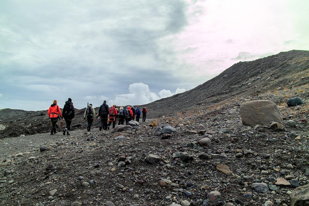 Glaciärhike på Island