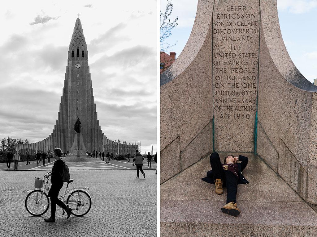Leif Ericsson, Hallgrimskirkja, Reykjavik