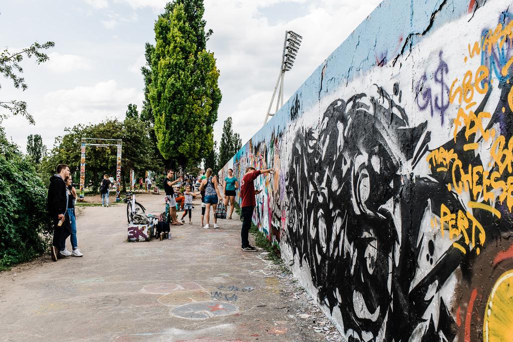 Graffiti, Mauer Park