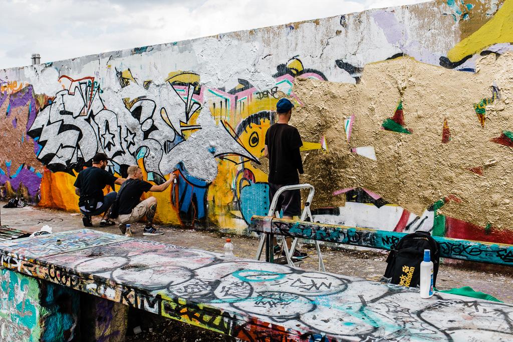Berlinmuren, Mauerpark