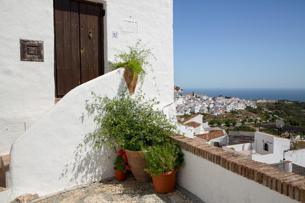 Frigiliana en av Spaniens vackraste byar