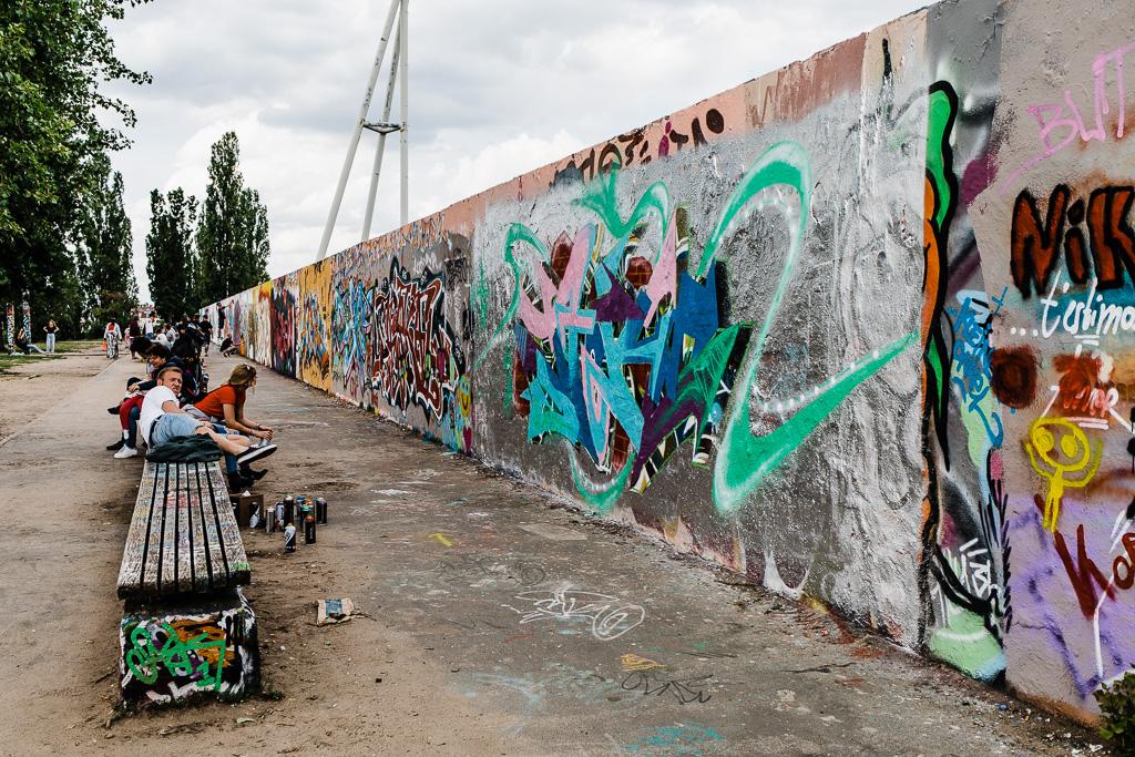 Graffiti, Mauerpark