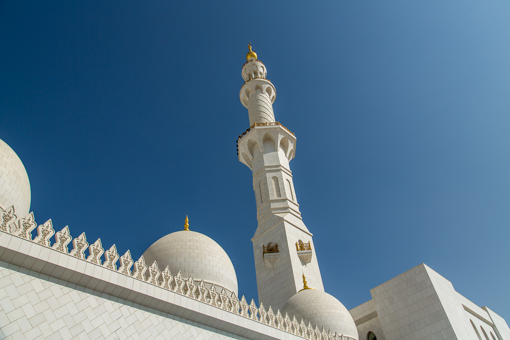 Minaret, Sheikh Zayed Moske