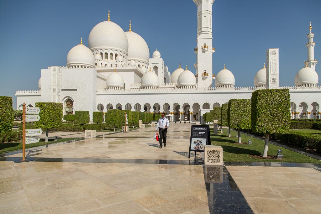 Entré, Sheikh Zayed Moskén