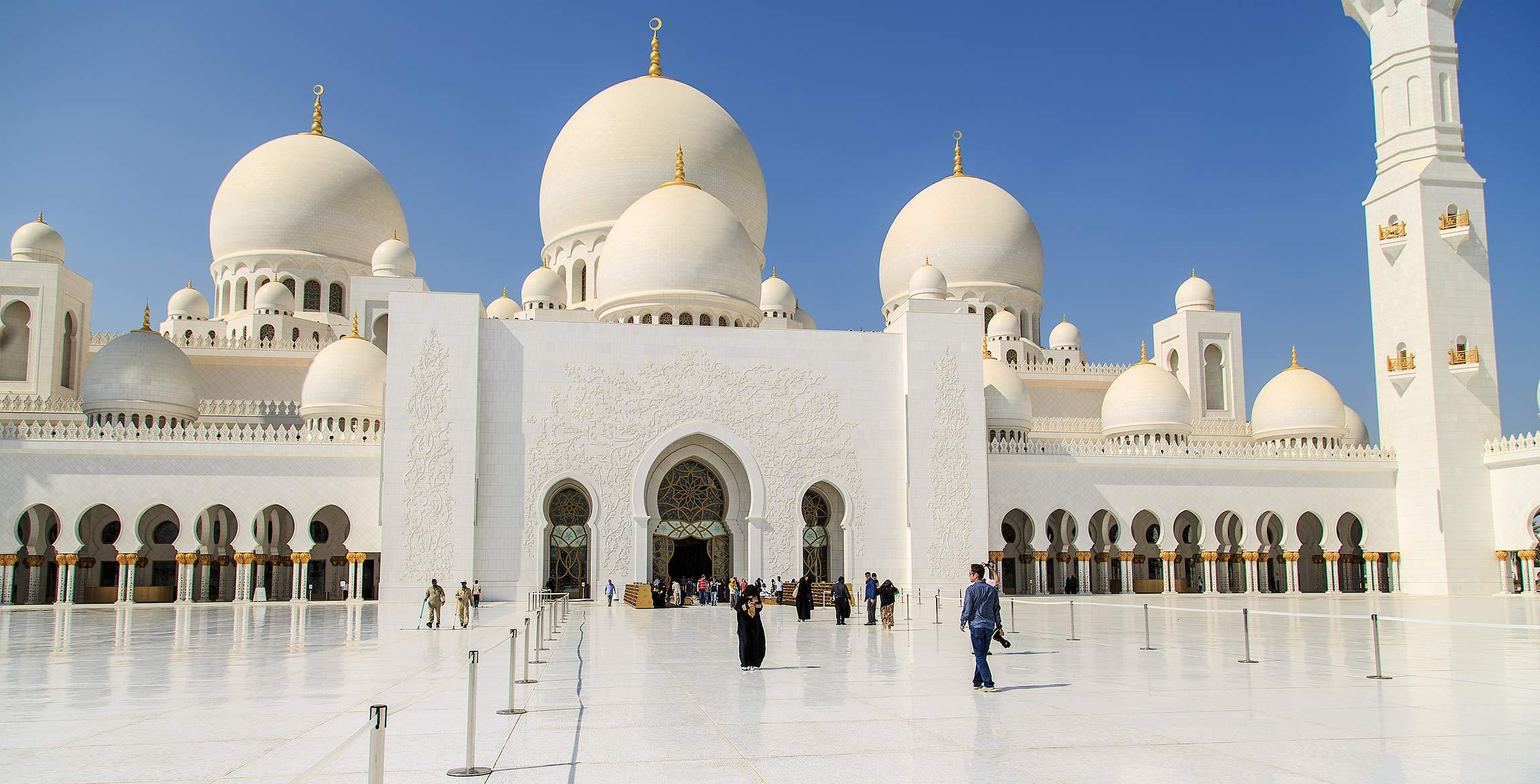 Sheikh Zayed Moskén, Abu Dhabi