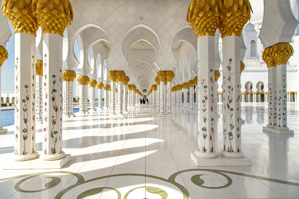 Sheikh Zayed-moskén i Abu Dhabi