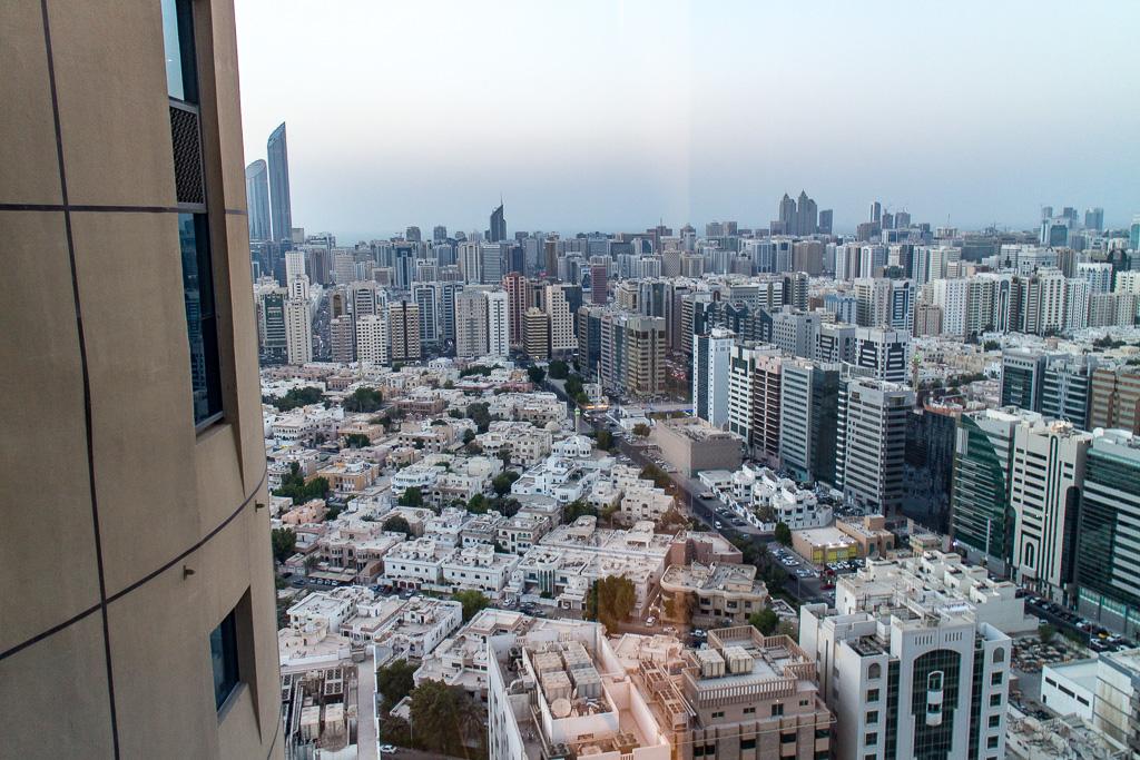 Utsikt över Abu Dhabi