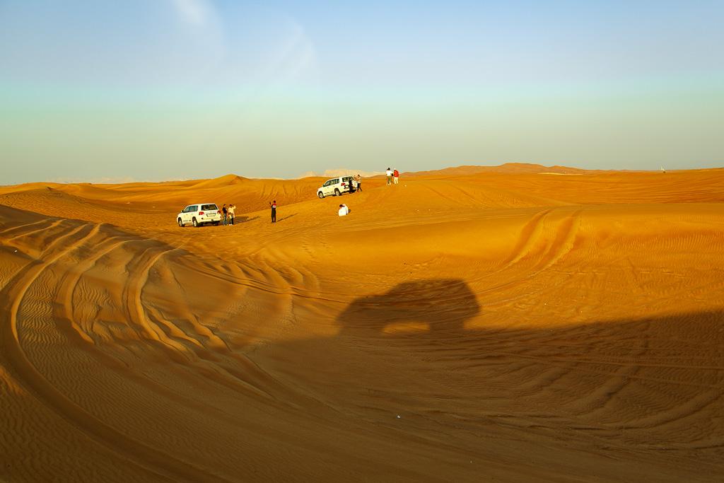 Ökentur i Dubai