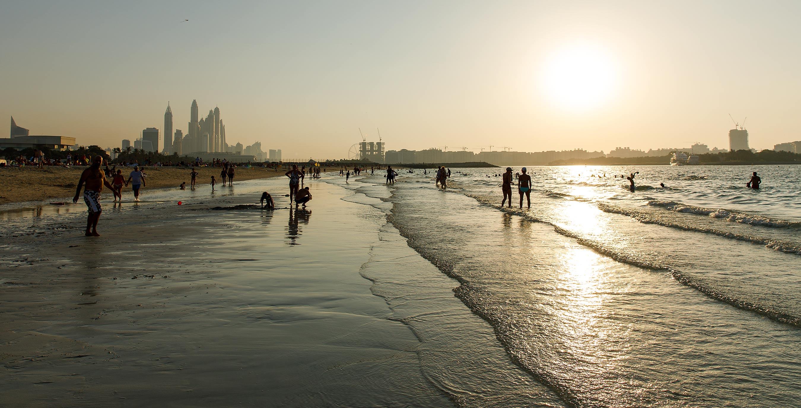 Strand i Al Sufouh, Dubai