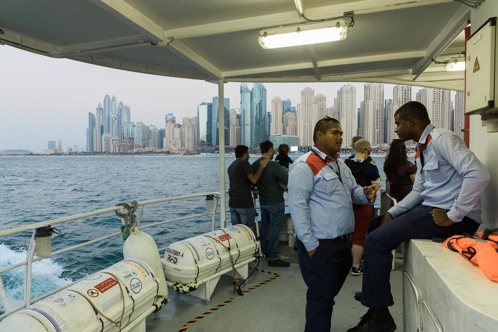 Färja Dubai Marina