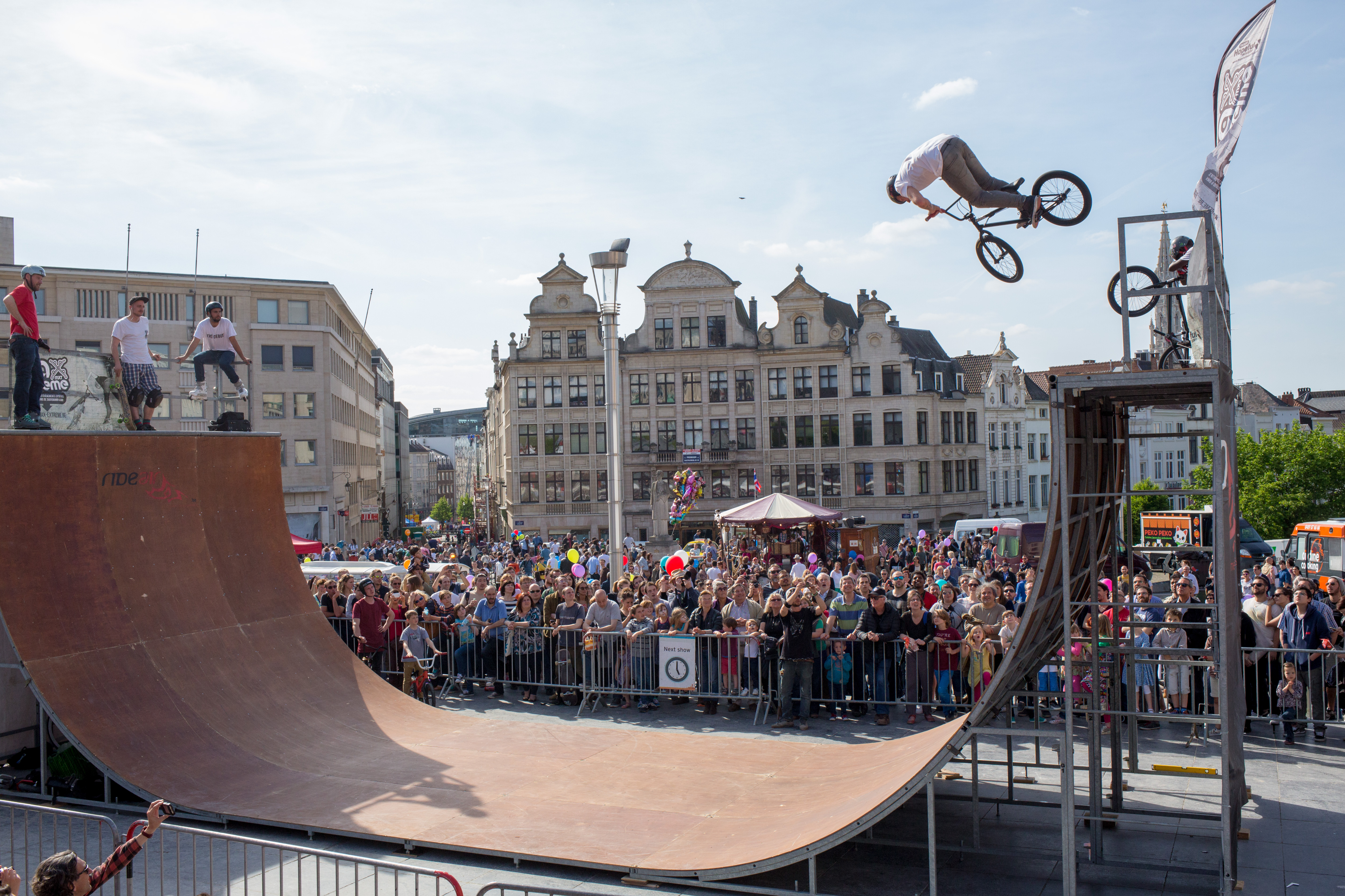 Festival i Bryssel