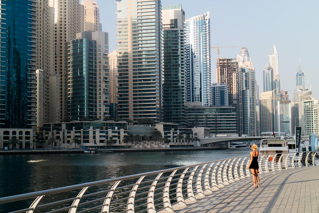 Promenad i Dubai Marina