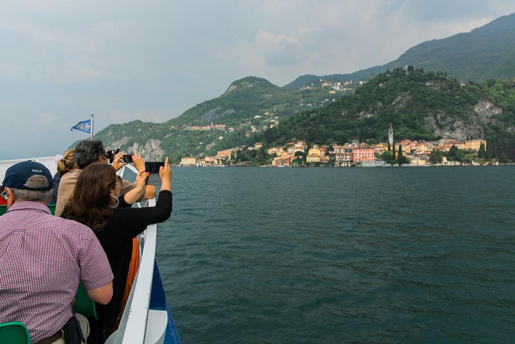 Varenna sett från Comosjön