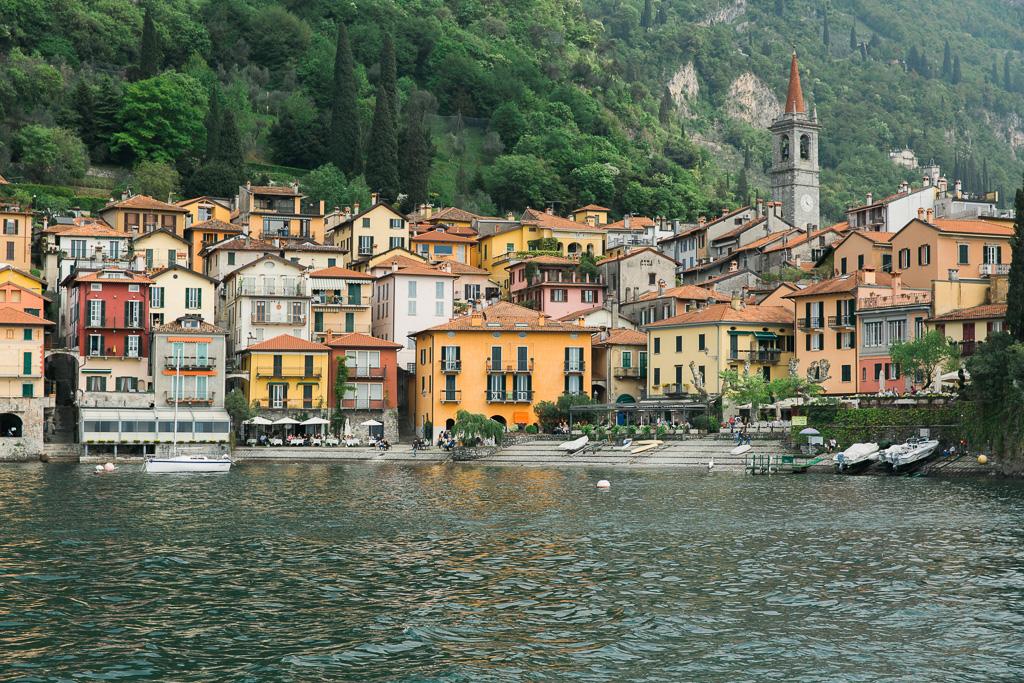 Varenna, Comosjön, Italien