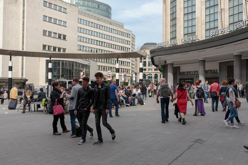 Centralstationen, Bryssel