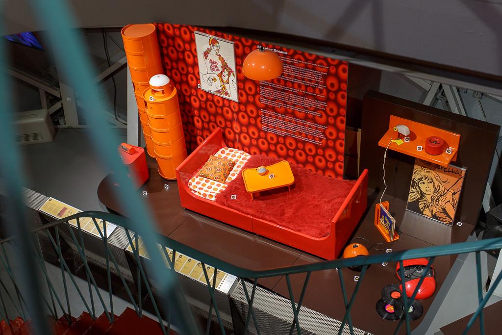 Utställningar i Atomium
