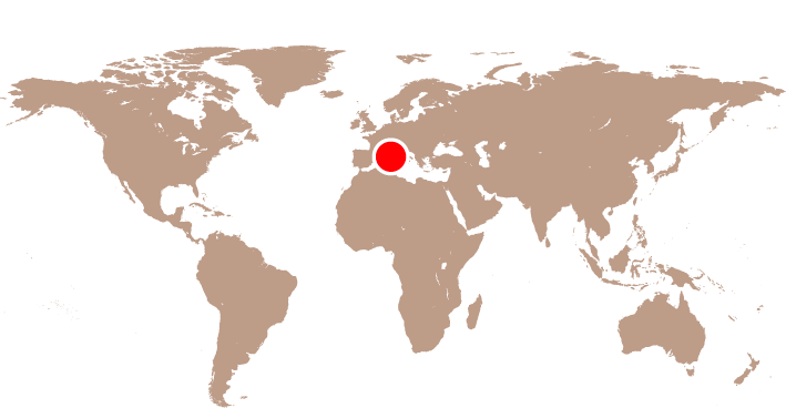 Karta Korsika