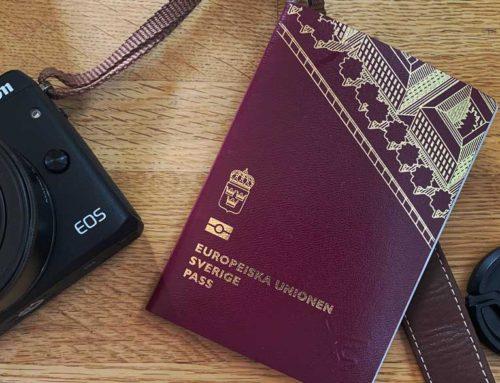 Pass och visum