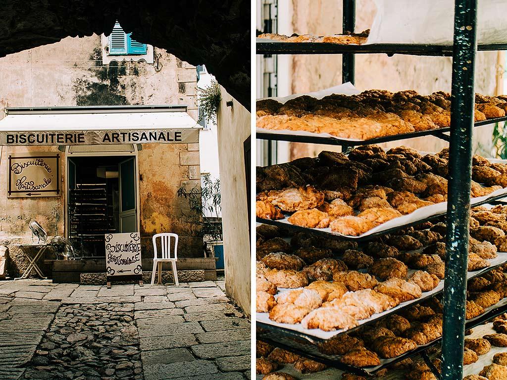 Bageri, kakor, Korsika