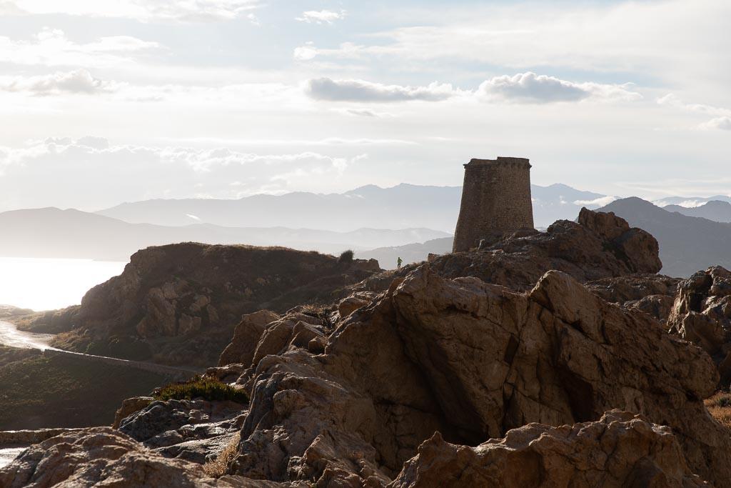 Klippor vid L'Ile Rousse, Korsika
