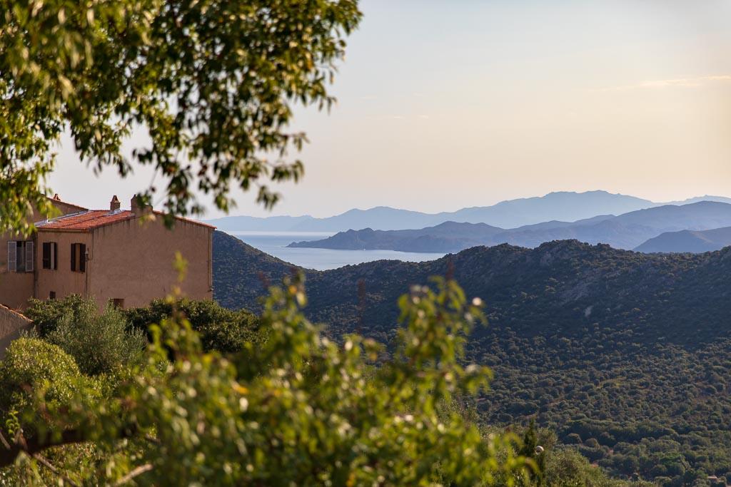 Utsikt, Monticello, Korsika