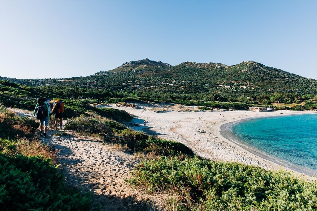Stranden Bodri beach, Korsika