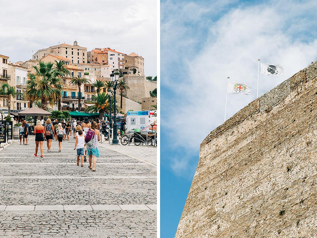 Citadellet i Calvi, Korsika