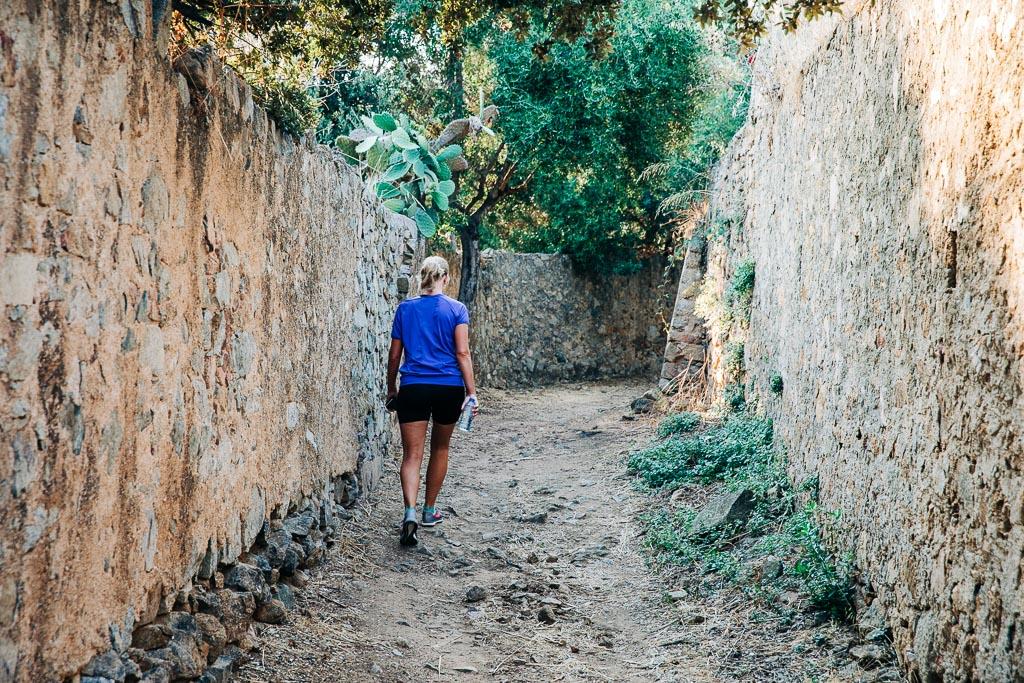 Promenad, vandring, Monticello