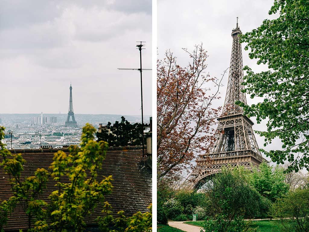 Eiffeltornet är 324 meter högt