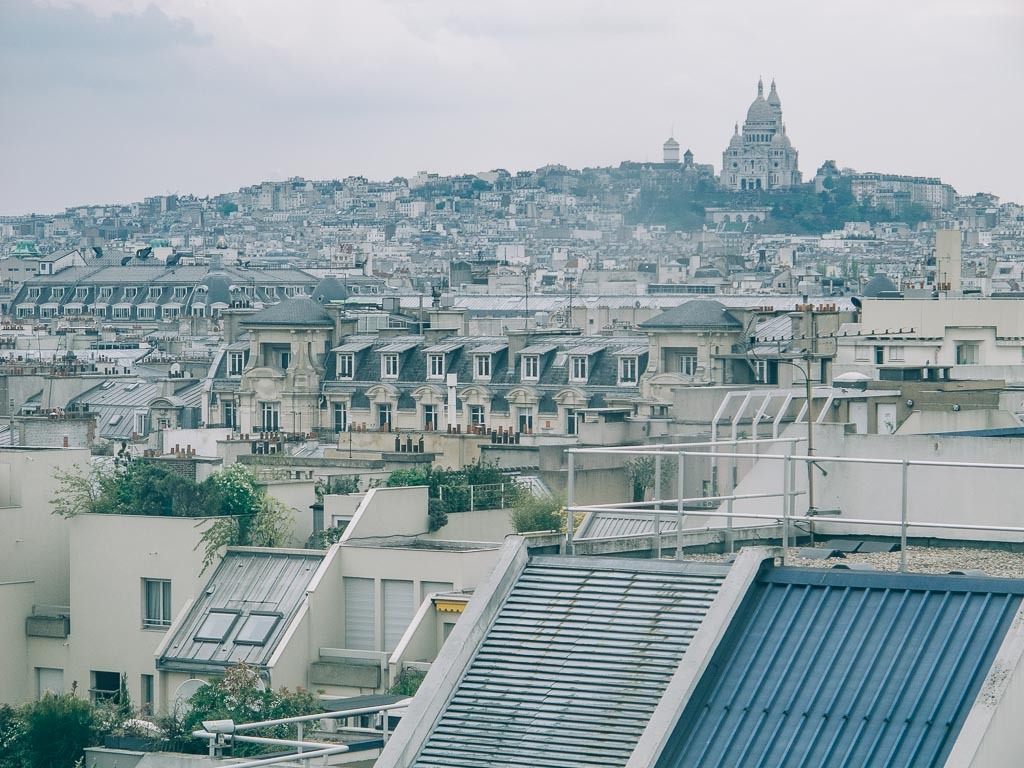Sacre Coeur ligger på Paris högsta punkt