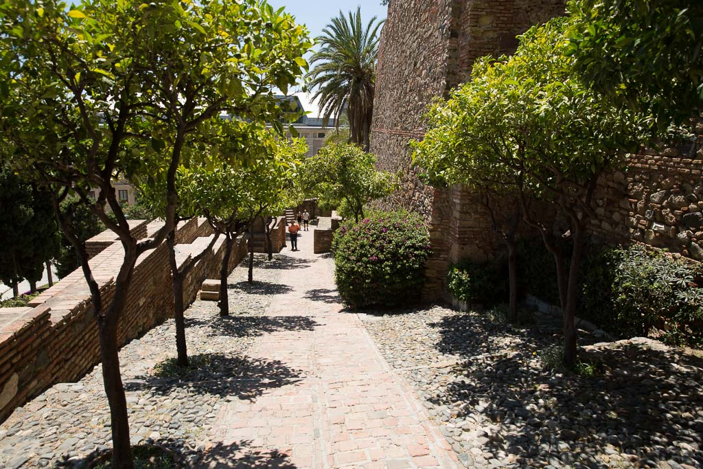 Alcazaba, Andalusien, Spanien