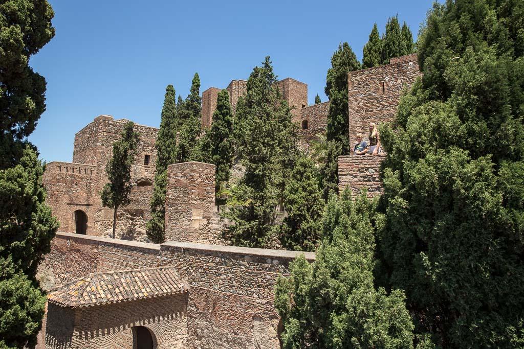 Mäktiga fästningen Alacaba